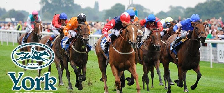 Horse racing at York Racecourse