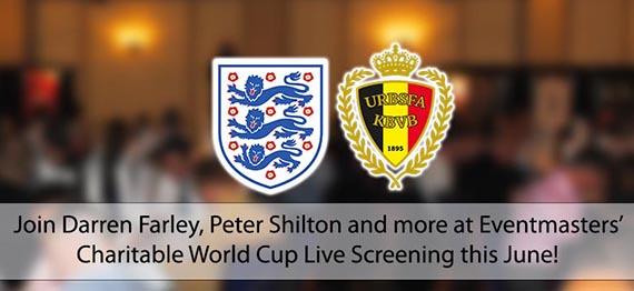 England v Belgium Live Screening