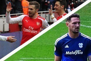 Arsenal Hospitality - Arsenal v Cardiff City - Emirates Stadium