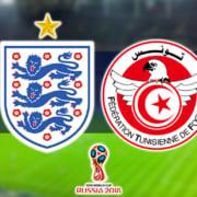 World Cup - England v Tunisia