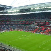 Wembley Stadium hosts World Cup Warm Up