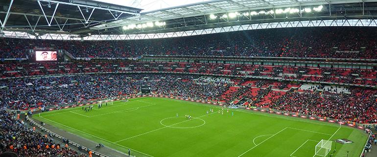 Wembley Stadium hosts World Cup Warm Up