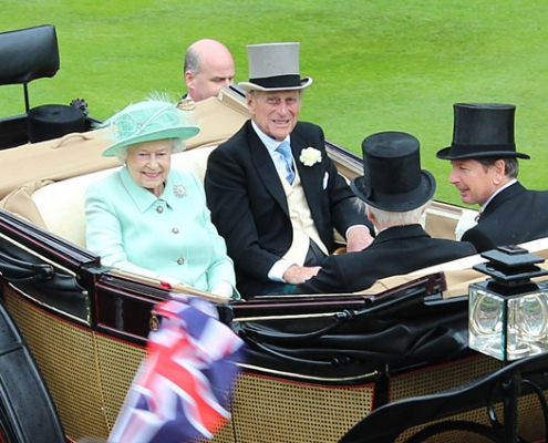 The Royal Procession at Royal Ascot