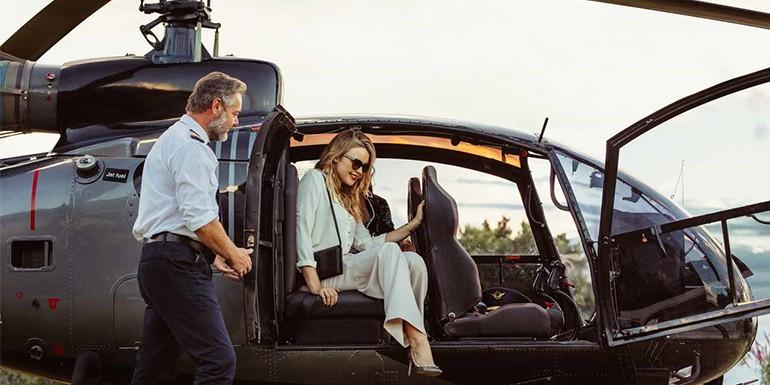 Henley Regatta Helicopter Transfer