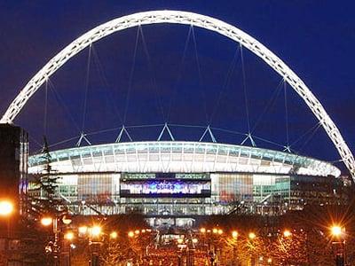 Football at Wembley Stadium