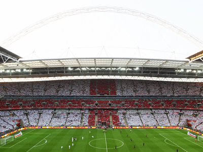 England face Czech Republic at Wembley Stadium