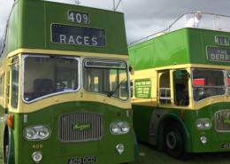 Epsom Racecourse Open Top Buses