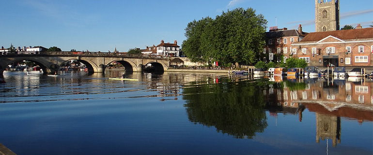 Henley on thames bridge