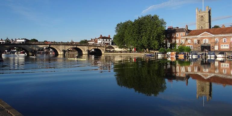 Henley on thames bridge