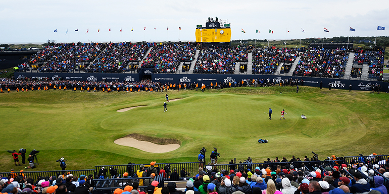 The Open Green - Royal Portrush