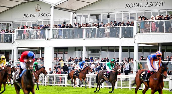 Royal Ascot Racing Action