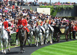 Royal Procession at Royal Ascot