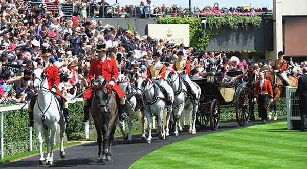 Royal Procession at Royal Ascot
