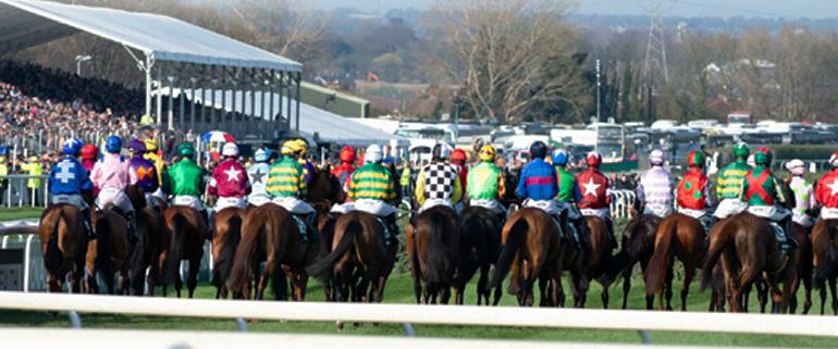 Aintree Grand National Horses Running