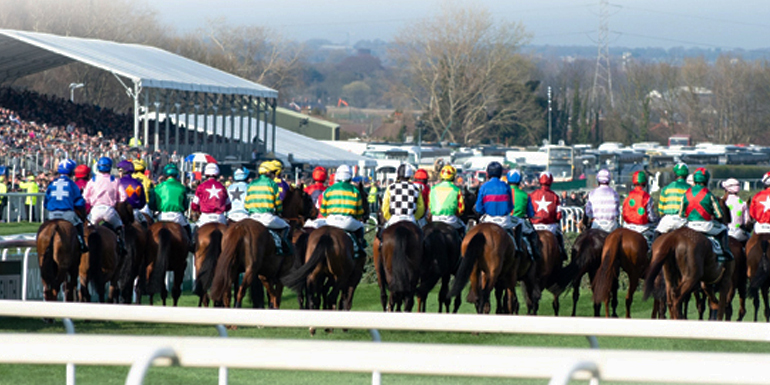 Aintree Grand National Horses Running
