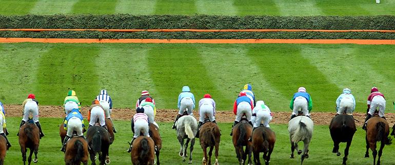 Aintree horses racing