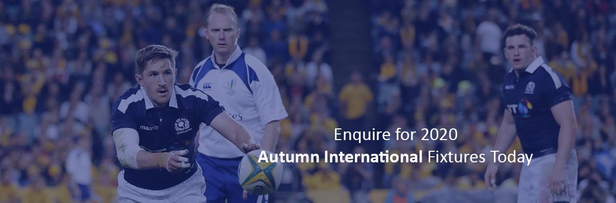 BT Murrayfield Autumn Internationals
