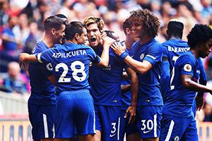 Chelsea Team Celebration FA Cup