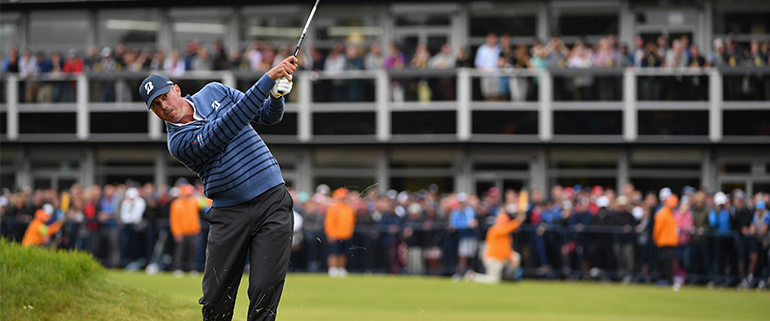 Kuchar play golf at The Open