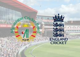 England v Afghanistan ICC 2019