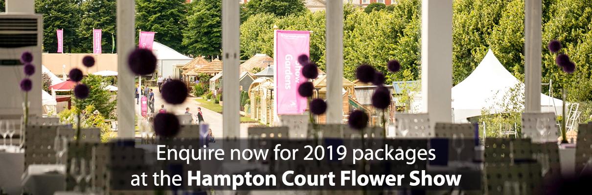 Hampton Court Flower Show 2019 Enquire