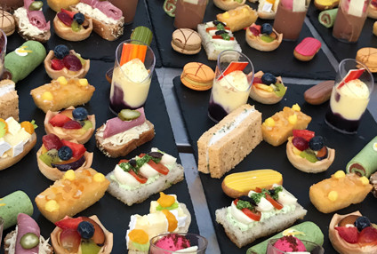 Delicious food with the Le Jasmin hospitality package