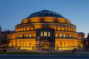 Royal Albert Hall at Twilight