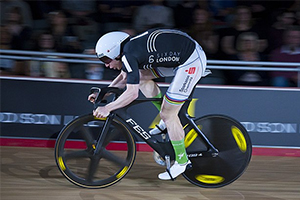 Cyclist at Six Day London