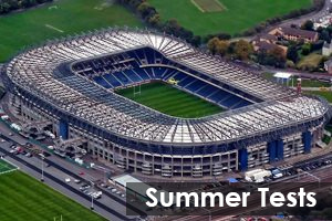 Summer Tests 2019 At BT Murrayfield