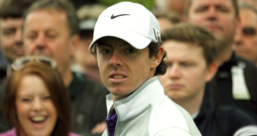 Rory McIlroy Looks Towards The Open