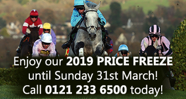 Cheltenham Festival 2020 - Price Freeze - Book Today with Eventmasters