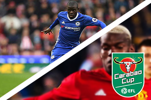 Chelsea v Man United Carabao Cup