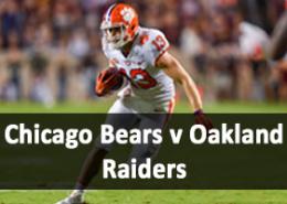 Chicago Bears v Oakland Raiders