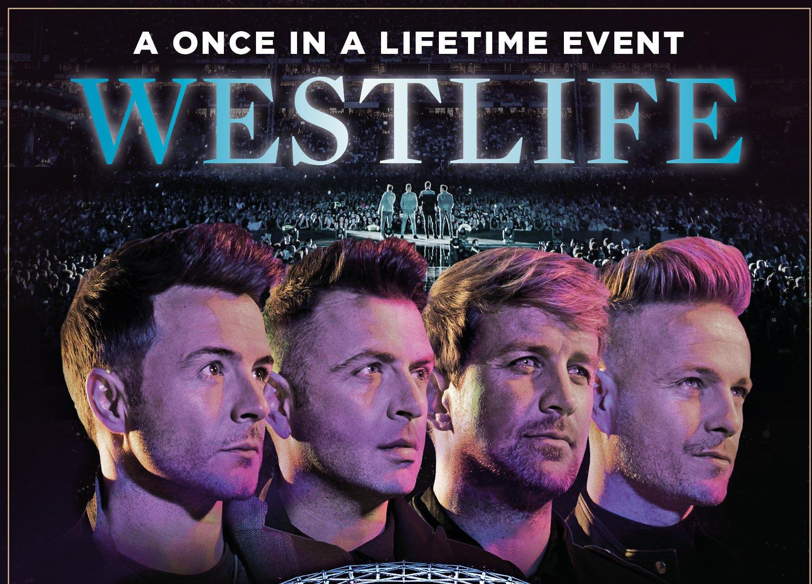 Westlife Concert Wembley Stadium