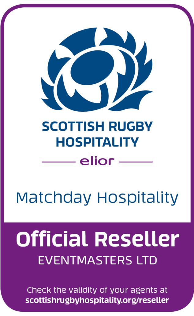 Scottish Rugby Hospitality - Eventmasters Official Reseller