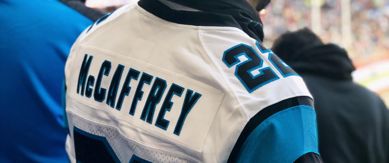 Christian McCaffrey No.22