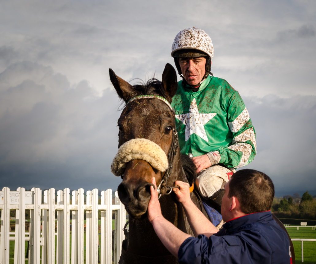 Davy Russell - Tiger Roll's Jockey on his mount