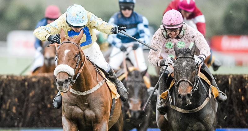 Horseracing at Punchestown Festival