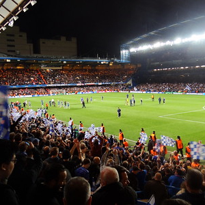 Stamford Bridge - Chelsea FC football crowd