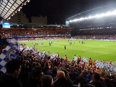 football crowd chelsea