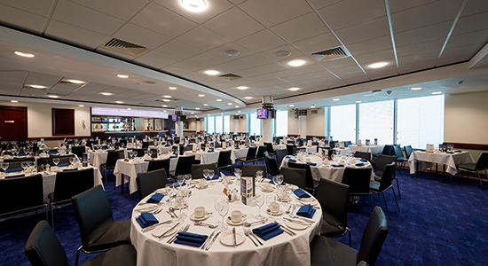 Chelsea FC Hospitality - Hollins Suite