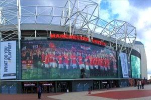 Old Trafford Stadium - entrance view