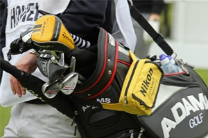 Close up of Golf Clubs at BMW PGA Championship