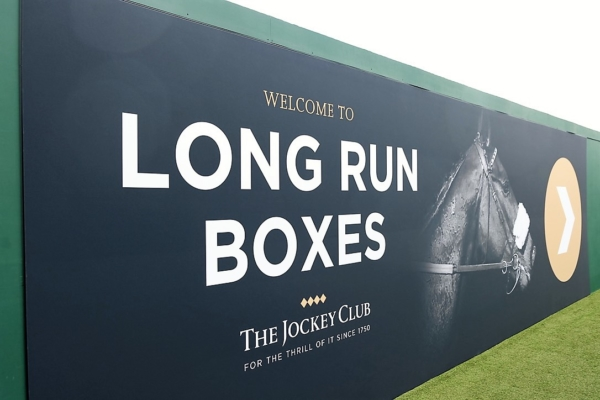 Long Run Box welcome sign