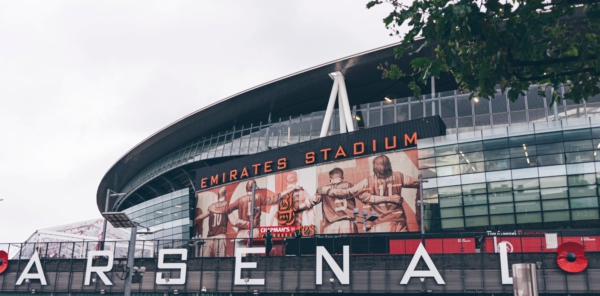 Arsenal Emirates Stadium - Front View