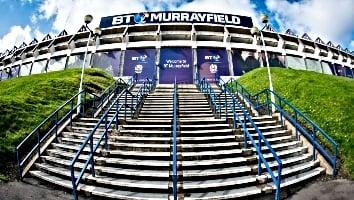 BT Murrayfield Stadium entrance