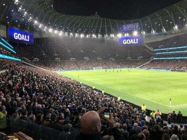 Tottenham Hotspur Stadium Crowd