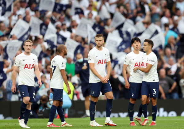 Spurs players: Tottenham Hotspur v Manchester City - Premier League