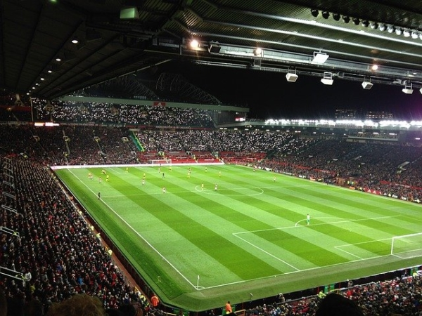 Old Trafford Stadium - Man Utd full pitch