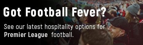 Football hospitality banner